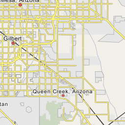 Map Of Arizona Showing Queen Creek.Queen Creek Arizona