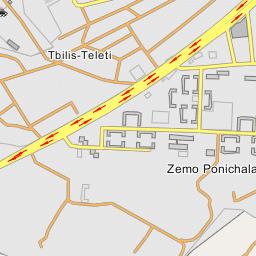 tbilis map