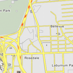 Bryan Park Interchange I 95 Exit 79 I 64 Exit 186 187 I 195