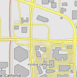 Intel Campus Map.Intel Mission Campus Santa Clara California